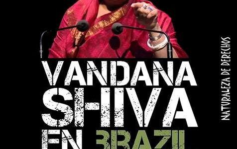 "Seminário ""Agrotóxicos, Impactos Socioambientais e Direitos Humanos"" trará a ativista Vandana Shiva para a cidade de Goiás (GO)"